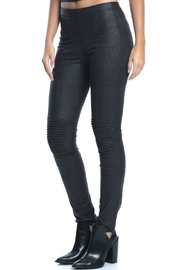 Elan Faux Suede Jeggings - Product Mini Image