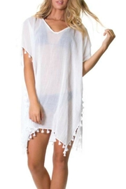 Elan Fringe Cover Up - Product Mini Image