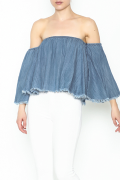Shoptiques Product: Bell Sleeve Denim