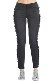 Elan International Fray Side Jeans - Front cropped