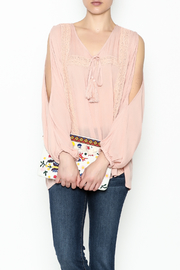 Elan International Pink Blush Top - Product Mini Image