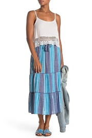 Elan International Striped Midi Skirt - Product Mini Image