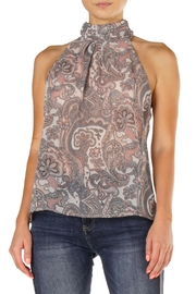 Elan Julissa Paisley Top - Product Mini Image