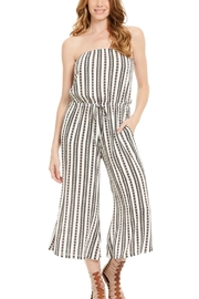 Elan Strapless Jumpsuit - Product Mini Image