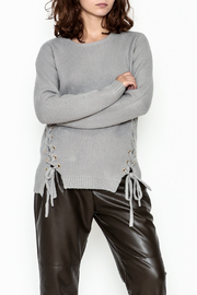 Elan Lace Up Sweater - Product Mini Image
