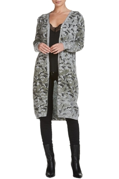 Elan Long Camo Cardigan - Alternate List Image