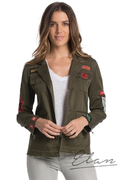 Elan Military Inspired Jacket - Alternate List Image