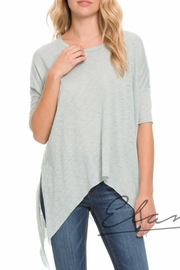 Elan Mint Sharkbite Tee - Front cropped