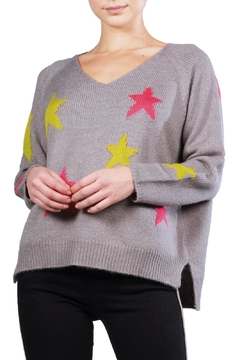 Elan Neon Stars Sweater - Alternate List Image
