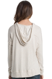 Elan Hood and Drawstrings Top - Side cropped