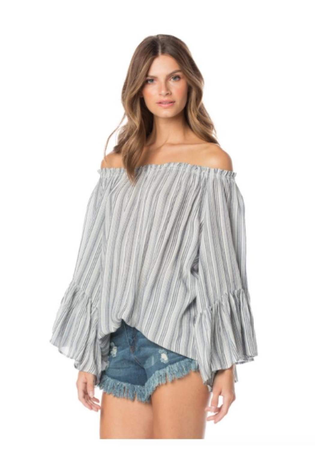 Elan Off-Shoulder Top - Main Image