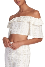 Elan Off-Shoulder Top Ruffle - Product Mini Image