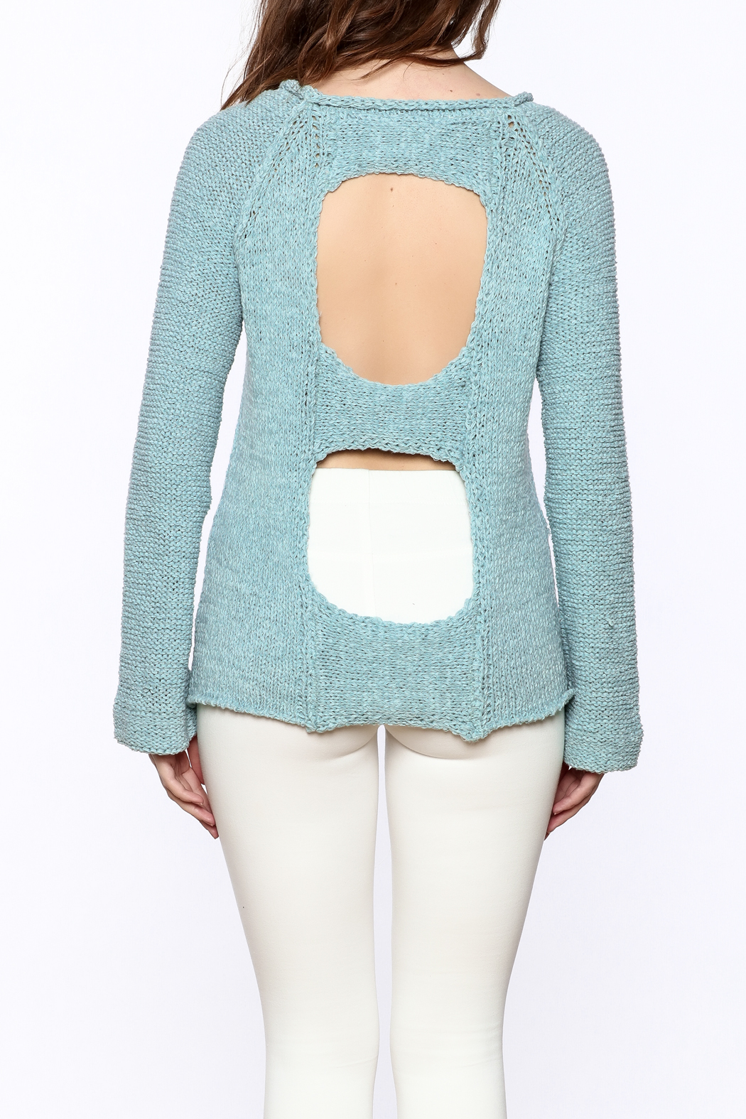 cb487530c1765 Elan Open Back Sweater from New York by Dor L Dor — Shoptiques