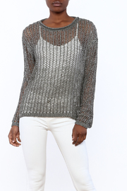 Elan Open Knit Sweater - Product Mini Image