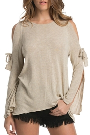 Elan Open Sleeves Top - Product Mini Image