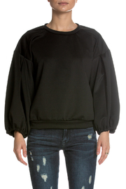 Elan Oversized Round Neck Top - Product Mini Image