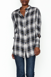 Elan Plaid Choker Shirt - Product Mini Image