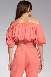 Elan Polly Off The Shoulder Top - Side cropped