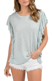 Elan Ruffle Layered Top - Product Mini Image
