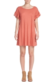 Elan Ruffle T-Shirt Dress - Product Mini Image