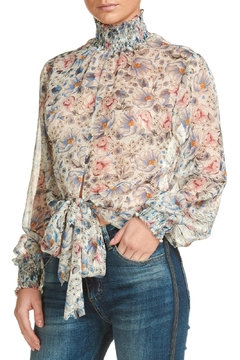 Elan Sheer Floral Blouse - Product List Image