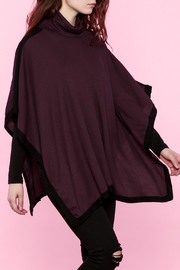 Elan Short Sleeve Poncho - Product Mini Image