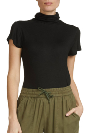 ELAN  Short Sleeve Turtleneck - Product Mini Image