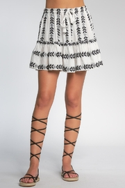 Elan Skirt With Ruffles - Front cropped