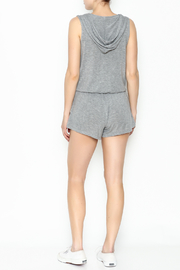 Elan Sleeveless Hooded Romper - Back cropped