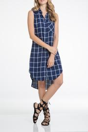 Elan Sleeveless Shirt Dress - Product Mini Image