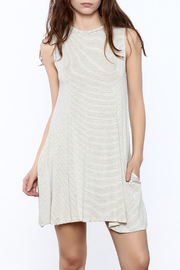 Shoptiques Product: Sleeveless Stripe Dress