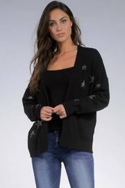 Elan Stars Cardigan Sweater - Product Mini Image