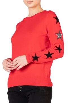 Elan Stars Sweater - Alternate List Image