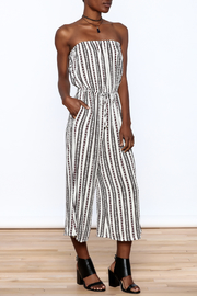 Elan Strapless Printed Jumpsuit - Product Mini Image