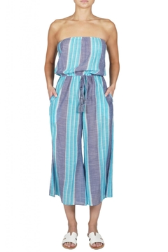 4224e4ebce Elan Strapless Stripe Jumpsuit - Alternate List Image ...