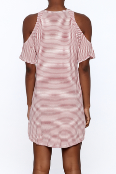 Elan Red Stripe Dress - Alternate List Image