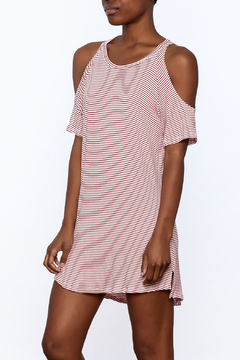 Shoptiques Product: Red Stripe Dress