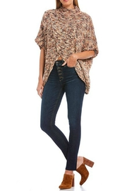 Elan Sweater With Cross-Front - Front full body