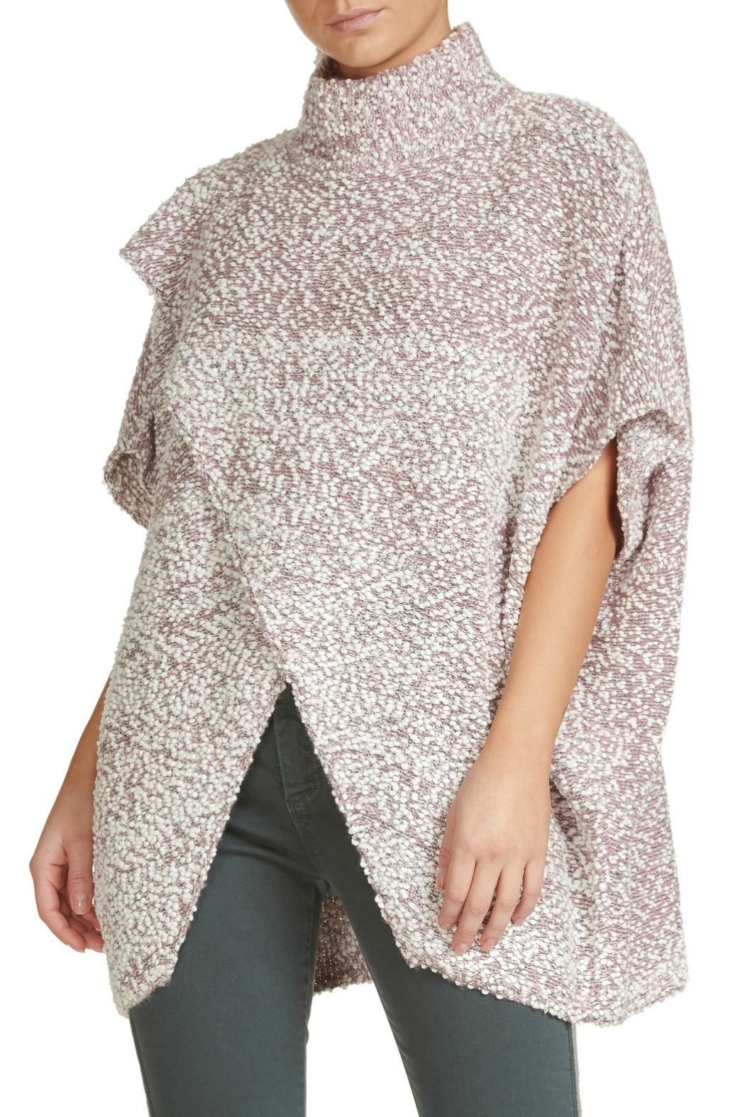 Elan Sweater With Cross-Front - Main Image