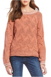 Elan Terracotta Sweater - Product Mini Image