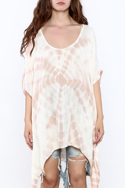 Elan Tie Dye Poncho - Side cropped