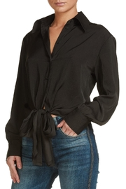 Elan Tie Front Blouse - Front cropped