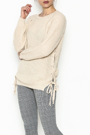 Elan Tie Shoulder Sweater - Product Mini Image