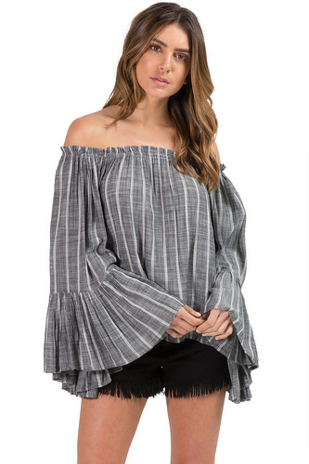 ae77d584845a Elan Off The Shoulder Top from New York City by FOR INTERNAL USE ...