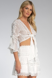 Elan Top With Bell Sleeves - Side cropped