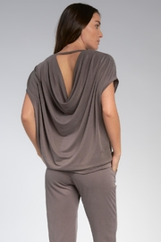 Elan Top With Open Back - Front full body