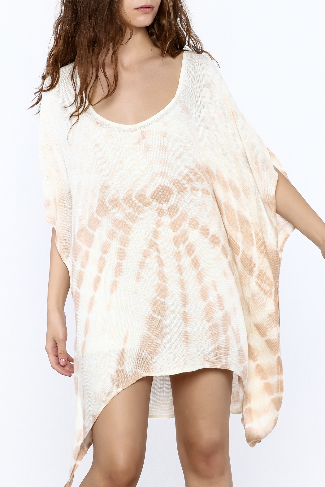 Elan Tan Tunic Dress - Main Image