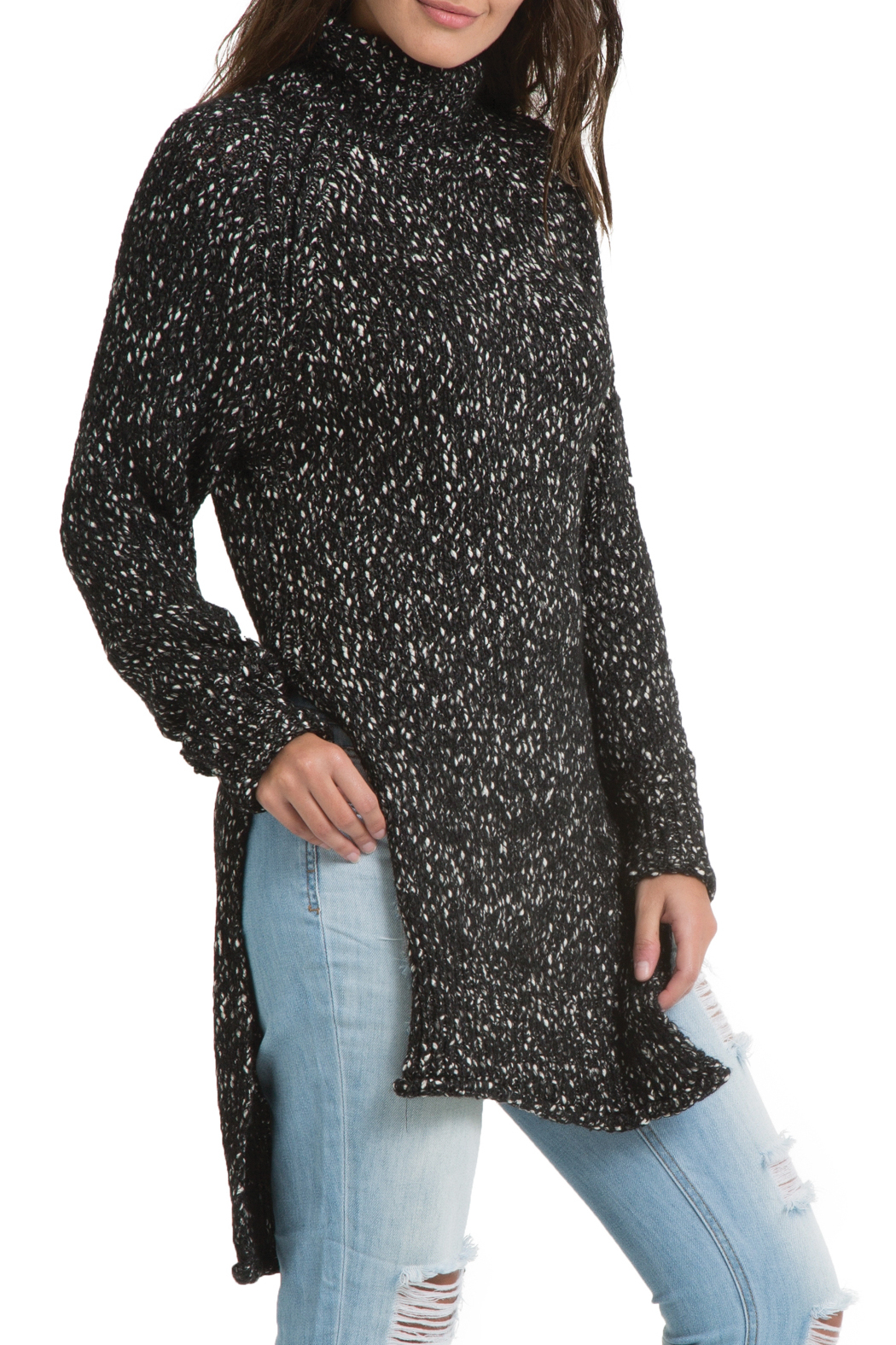 Elan Turtleneck Tunic Sweater from Montana by Apricot Lane ...