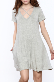 Elan Grey Swing Dress - Product Mini Image