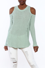 Elan Mint Green Sweater - Product Mini Image